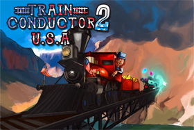 Train Conductor 2: USA title screen